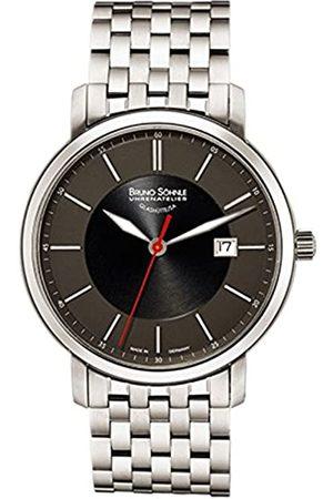 Soehnle Herren Uhren - Bruno Söhnle Herren Analog Quarz Uhr mit Edelstahl Armband 17-13138-742