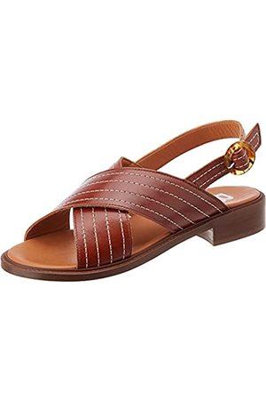 Bensimon Damen Sandalen - Damen Sandale Plate CROISEE Hausschuh