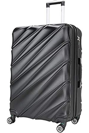 Shaik Serie Candy Design LHR | TSA Schloss | Größe L ca. 69 x 44 x 28 cm 85 L Liter Hartschalen Koffer | 4 Doppelrollen, 25% Mehr Volumen durch Dehnfalte (