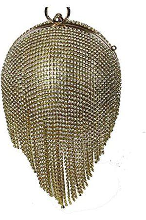 kingluck Damen Ringe - Ballförmige Clutch Handtasche Party Handtasche Strass Quaste Ring Griff Abendtasche