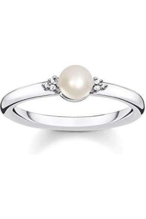 Thomas Sabo Damen-Ringe 925 Sterlingsilber mit '- Ringgröße 50 D_TR0039-765-14-50
