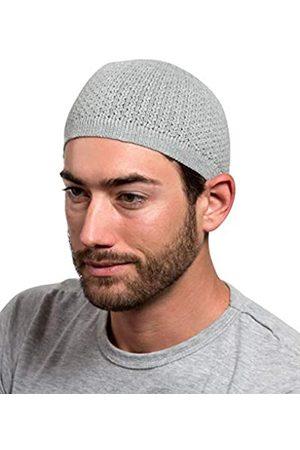 Muslim Bookmark Herren Hüte - Elastische Einheitsgröße, passend für die meisten hochwertigen Baumwoll-Kufi-Mützen, Skullcap