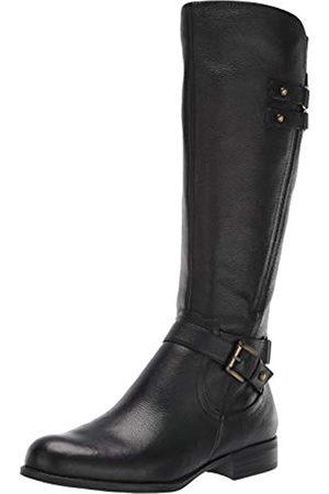 Naturalizer Damen Stiefel - Women's Jackie Knee High Boot, Black Leather