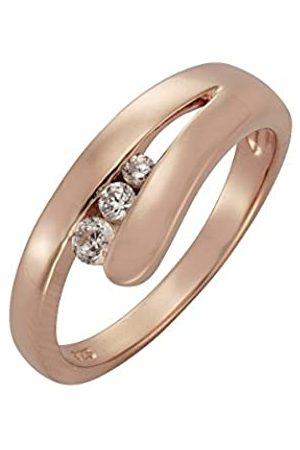 Zeeme Silber Damen Ring 925/- Sterling Silber Glänzend Zirkonia 360270094-9