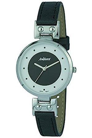 Arabians Damen Uhren - DamenAnalogQuarzUhrmitLederArmbandDBA2244N