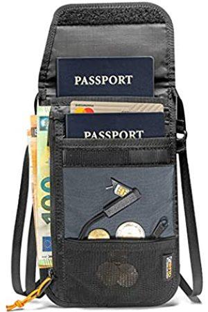 tomtoc Reisetaschen - Reisepasshülle mit SIM-Kartenhalter und Auswurfstift, RFID-blockierende Reisetasche, um Ihren Reisepass, Bargeld, Kreditkarten