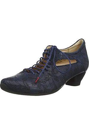 Think! Damen Schnürschuhe - Damen AIDA_3-000048 chromfrei gegerbter, nachhaltiger Schnürpumps