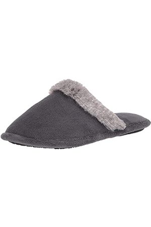 Isotoner Damen Microterry Spa Clog Slipper Holzschuh