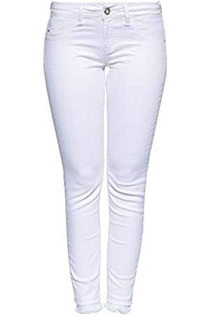 ATT Damen Slim - Damen 5 Pocket Jeans | Damenhose | Slim Fit | Wonder Stretch | Offene Saumkanten Leoni
