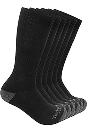 Timberland Herren Socken & Strümpfe - PRO Herren 6-Pack Performance Crew Length Socks Freizeitsocken