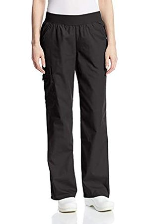 Cherokee Damen Hosen & Jeans - Damen Flexibles Mid Rise Elastische Taille Scrubs Hose - - Small Hoch