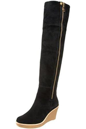 Daniblack Damen Overknees - Savannah Overknee-Stiefel für Damen