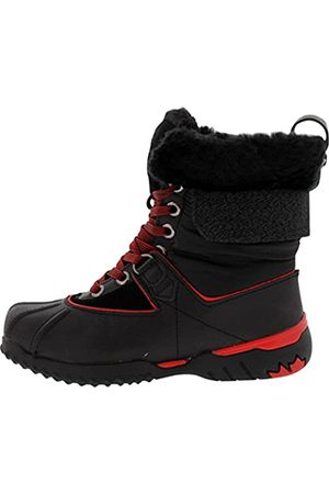 Pajar Damen Stiefel - Canada Damen Krystal Black/Black/Red/Black/Grey Boot 37 M