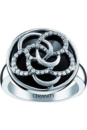 Ceranity Damen Ringe - DamenRingSterling-Silber925Zirkonoxid50(15.9)1-12/0072-N-50