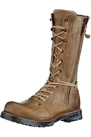 Yellow Cab Damen Apache W Combat Boots, (Taupe)