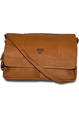 Pangea Brands Herren Laptop- & Aktentaschen - MLB Pittsburgh Pirates Laptoptasche, Leder