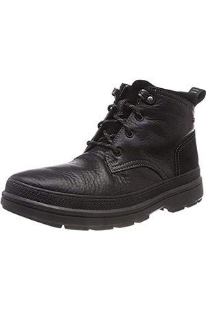 Clarks Herren RushwayMid GTX Chelsea Boots, (Blk Tumbled Lea)