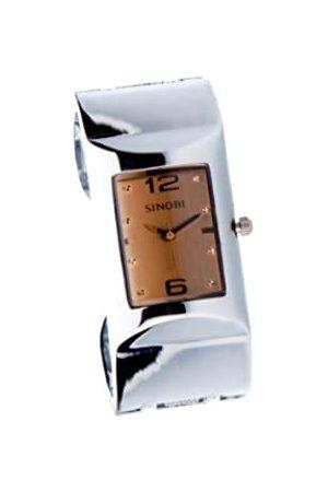 Sinobi Damen-Armbanduhr XS Analog Quarz Edelstahl beschichtet 9181/MAR