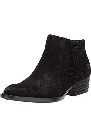 Born Damen Stiefel - - Womens - Bessie Damen , Schwarz (schwarze Velourslederoptik)