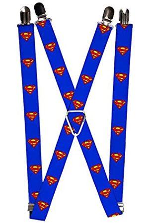 Buckle-Down Herren Hosenträger - Herren Suspender-Superman Strumpfhalter