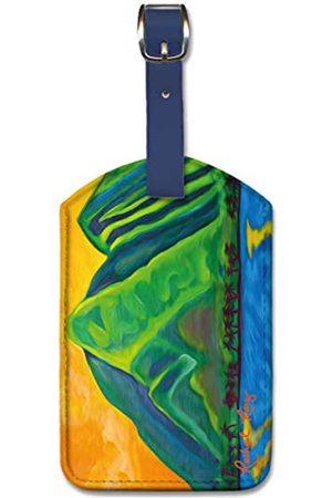 Pacifica Island Art Reisetaschen - Gepäckanhänger von Mauka Makai von Rachael Ray