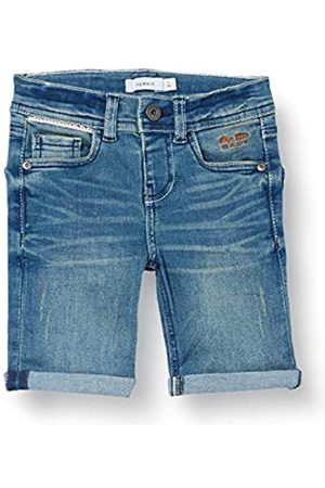 NAME IT Jungen Shorts - Boy Jeansshorts Extra Slim Fit 158Medium Blue Denim