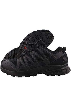 Salomon Herren Schuhe - Herren XA PRO 3D V8, Leichte Schuhe für Trail Running und Wandern, (Black/Black/Black)
