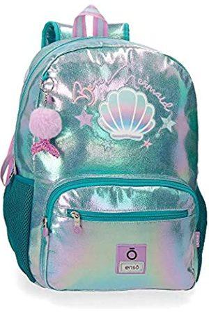Enso Be a Mermaid Laptop-Rucksack für die Schule 32x42x14 cms Polyester 15