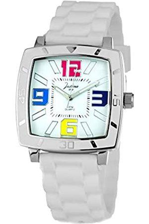 JUSTINA Unisex-Armbanduhr Analog Quarz Kautschuk 21971B