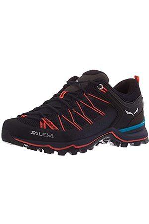 Salewa Damen WS Mountain Trainer Lite Trekking-& Wanderstiefel, Premium Navy/Fluo Coral