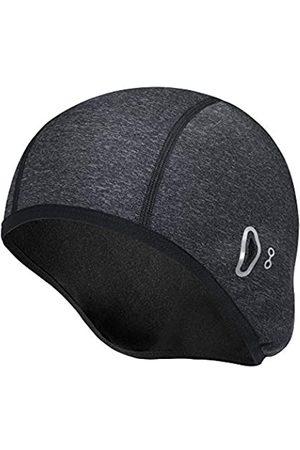 N\C Skull Caps Herren Winter Radmütze Spezielles Design für Sonnenbrille Wasserdicht/Winddicht Warm Fleece Thermo Hut Helm Liner Caps für Wandern Skifahren Reiten