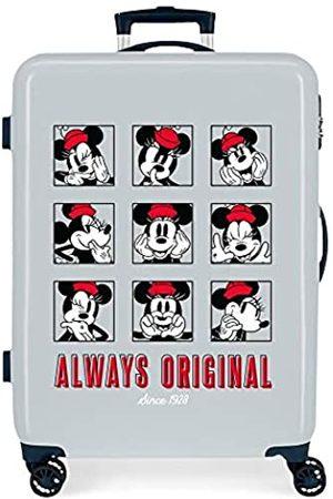 Disney Good Vives Only Mittelgroßer Koffer, 48 x 68 x 26 cm, Hart, ABS, seitlicher Zahlenkombinationsverschluss 70 l, 2,66 kg