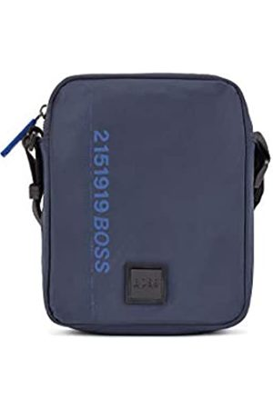 HUGO BOSS Herren Scriptic NS mini Reporter-Tasche aus recyceltem Nylon mit Logo-Artwork Größe One Size