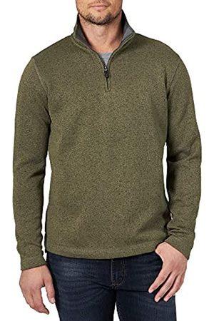 Wrangler Herren Authentics Men's Sweater Fleece Quarter-Zip Hemd