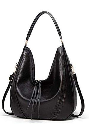 Cawmixy Große Hobo-Taschen für Frauen, Schultertaschen, weiches veganes Leder, Handtaschen, Geldbörsen, Quasten, Arbeitstaschen