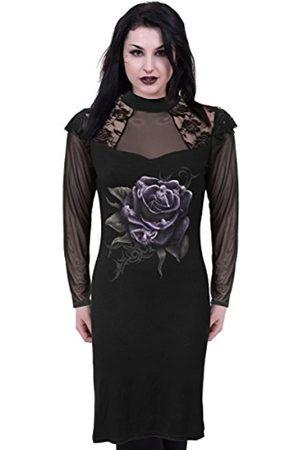 Spiral Damen Rose Angels - Lace Shoulder Corset Dress Kleid