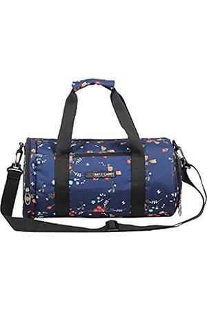 SIMPLECARRY Turnbeutel – Reisetasche für Damen & Herren – Polyester wasserdichtes Material, leicht und verstellbarer Schultergurt – Packable Duffel Bag für Kleidung