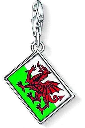 Thomas Sabo Wales Flagge Charm Anhänger