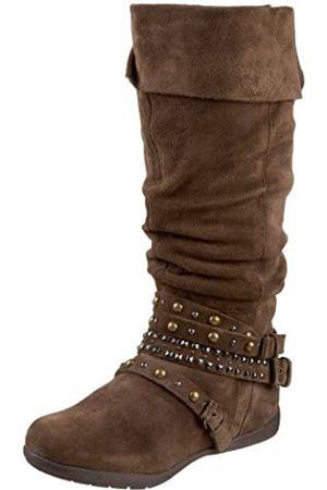 ZIGIny Damen Stiefel - Damen Meesha Stiefel, (Dark Stone)