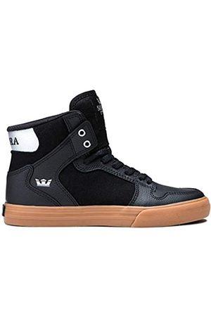 Supra Kids Vaider Hohe Sneaker, (Black/Silver-Gum-M 82)