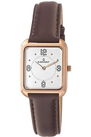 Radiant Damen Analog Quarz Uhr mit Leder Armband RA471601