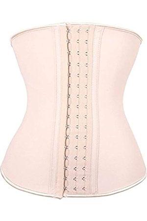 YIANNA Taillentrainer für Frauen, Unterbrustmuskeln, Latex, Sportgürtel, Korsett, Cincher