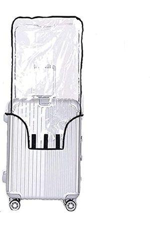Joyden Transparente PVC-Kofferabdeckung, wasserdicht, für Rollkoffer, passend für die meisten 50,8 cm, 55,9 cm, 61 cm, 66 cm, 71,1 cm, 76