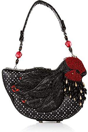 MARY FRANCES Tasche mit Magnetverschluss, Huhn