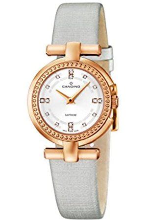Candino Damen Analog Quarz Uhr mit Leder Armband C4562/1
