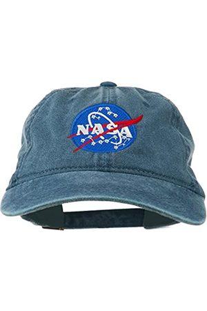e4Hats.com NASA Insignia bestickte Pigment gefärbte Kappe - - Einheitsgröße
