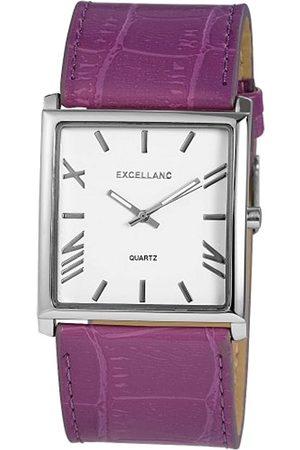 Excellanc Herren-Uhren mit Polyurethan Lederband 293023800112