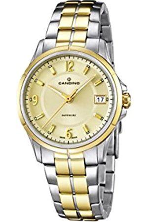 Candino Damen Analog Quarz Uhr mit Edelstahl beschichtet Armband C4534/2