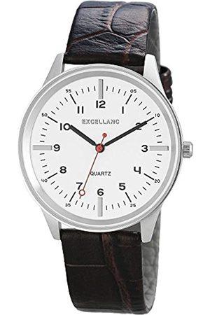 Excellanc Herren Analog Quarz Uhr mit Verschiedene Materialien Armband 192122100036