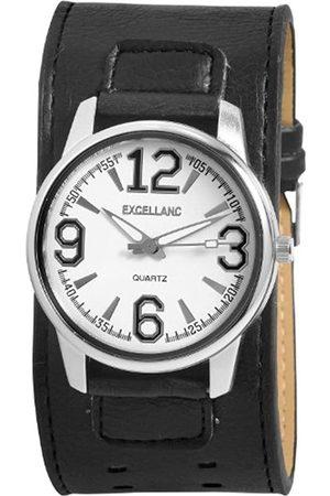Excellanc Herren-Uhren mit Polyurethan Lederband 293022100087